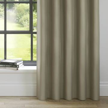 Curtains Panama Mink